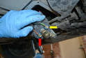 Even though you have probably run the fuel system tests before you replace anything, make sure the pump is getting power.