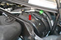 The left side cover has a clip that holds the wiring harness in place on all years but the clip was only added to the right side cover in 1996 and forward.