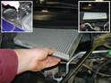 While you're replacing the engine air filter, I recommend that you also swap out the cabin air filter as well.