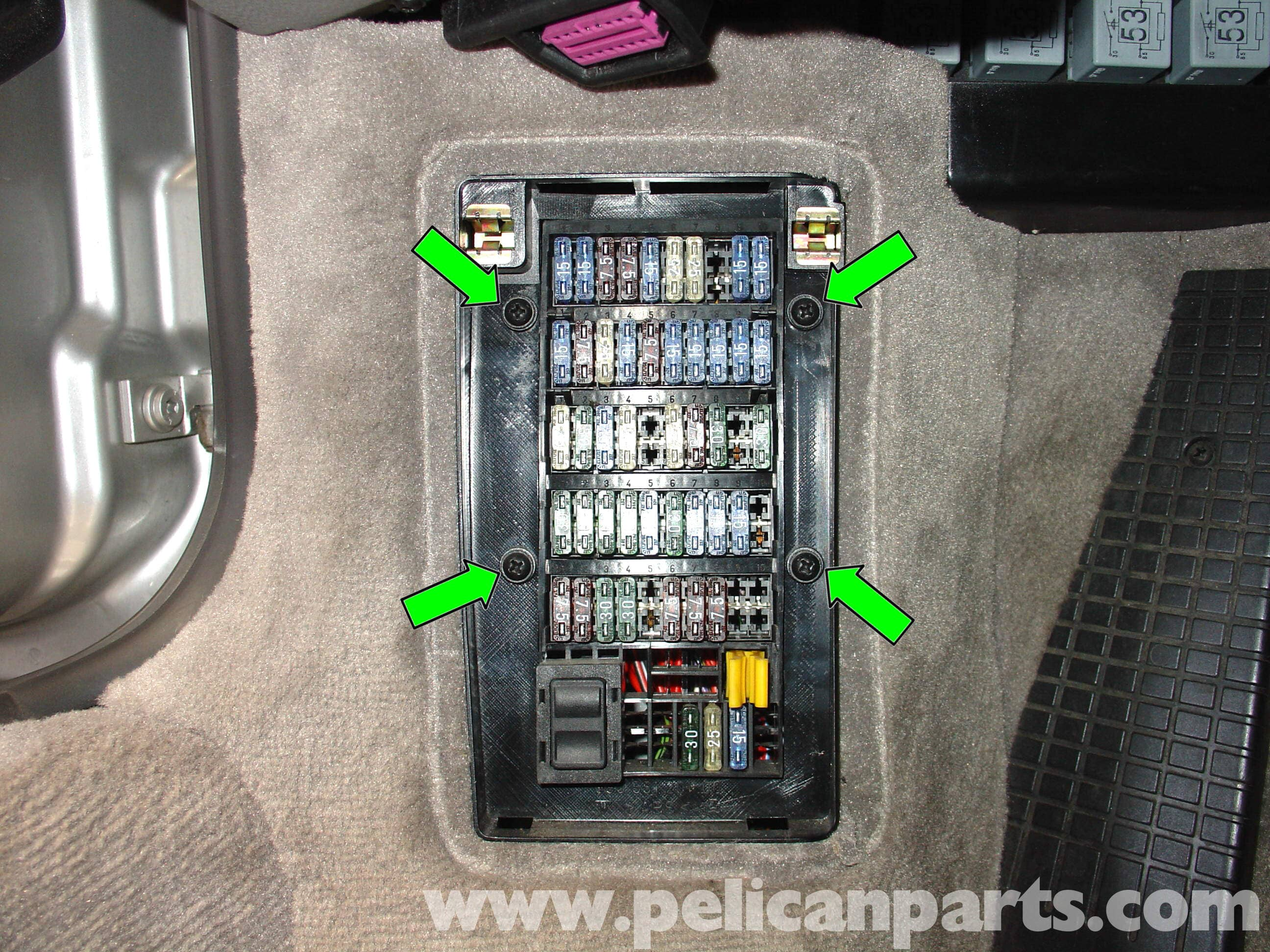 Replace Under Hood Fuse Box 1998 Porsche Boxster