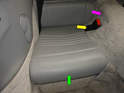 Replacing the rear carpeting that goes over the