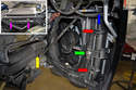 This photo shows the back side of the 997 radiator and fan assembly with the inner fender liners removed (see <a style=color:000080 href=https://www.
