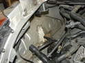 Once the coolant tank is removed, you will probably see something similar to thisPicture.