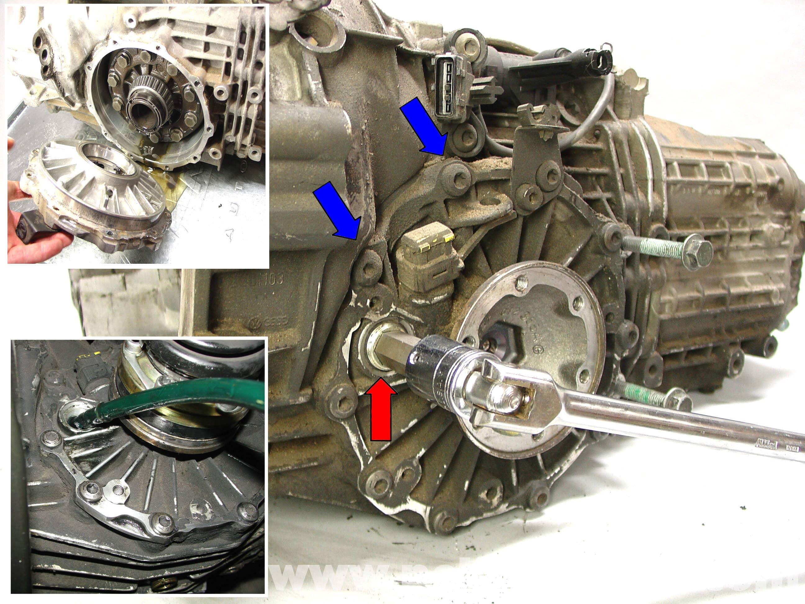 Porsche 911 Carrera Manual Transmission Fluid Replacement 996 1998 2005 997 2005 2012