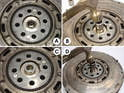 The pilot bearing holds the transmission input shaft in place and aligns the transmission up with the crankshaft.