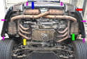 Here is aPicture of a complete exhaust system.