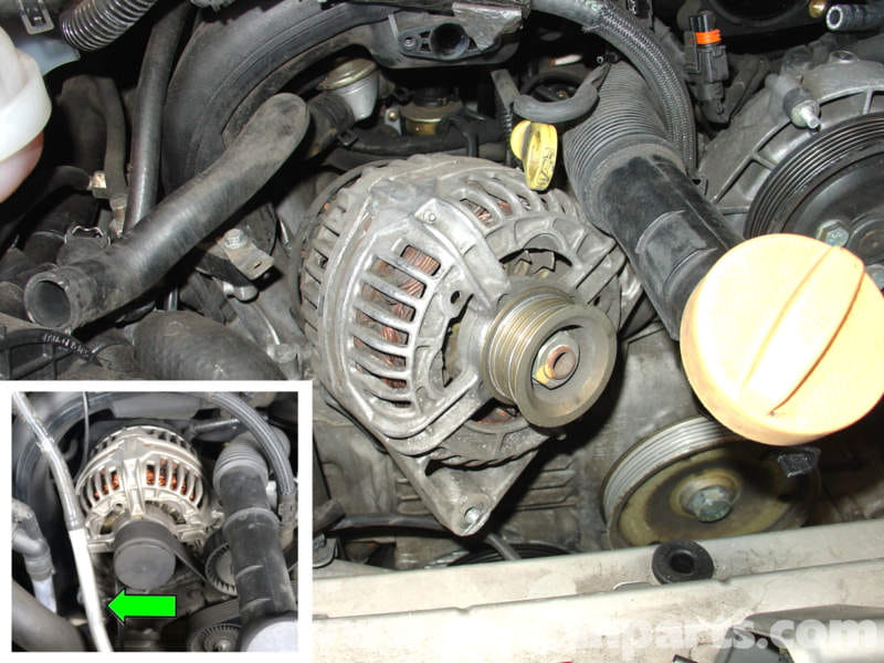 Wiring In Addition 240sx S13 Alternator Removal On Nissan 240sx