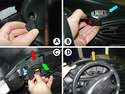 Here are the steps for removing the gauge cluster.