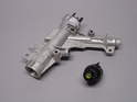 Shown here is the updated ignition cylinder/steering lock assembly.