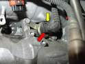 On bank 1 (driver side) the solenoid is mounted between the spark plugs for cylinders 1-2, and on bank 2 (passenger side) the solenoid is mounted between spark plugs for cylinders 4-5.