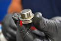 Check the drain plug for any metal shavings or debris.
