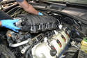 You are going to remove the intake manifold to give you room to access the starter.
