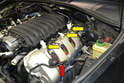 If you are leaving the cover off for any time make sure to plug the holes (yellow arrows) to prevent anything accidentally falling in the valve cover.