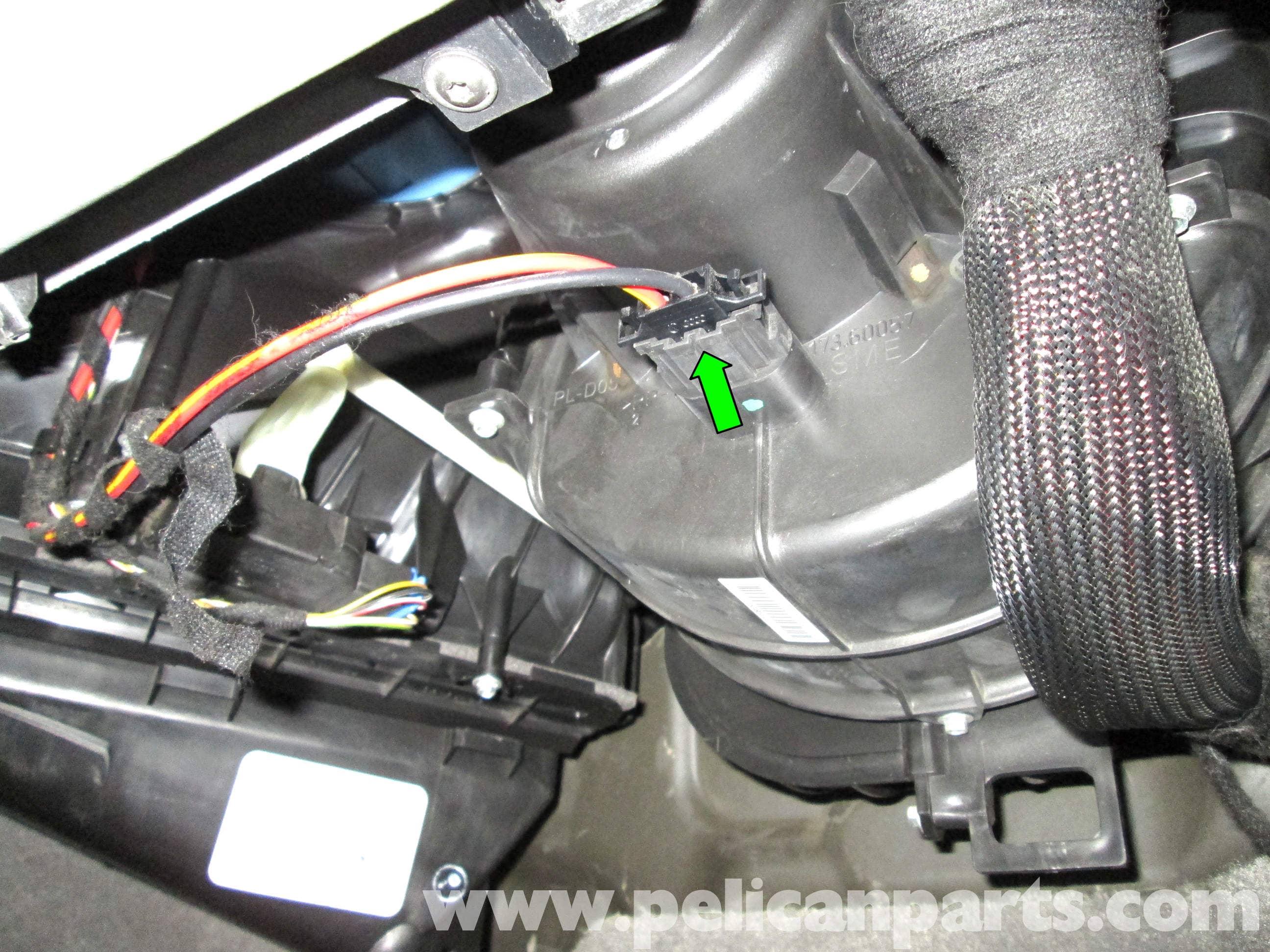 Porsche cayenne hvac blower fan and regulator replacement for Hvac blower motor replacement