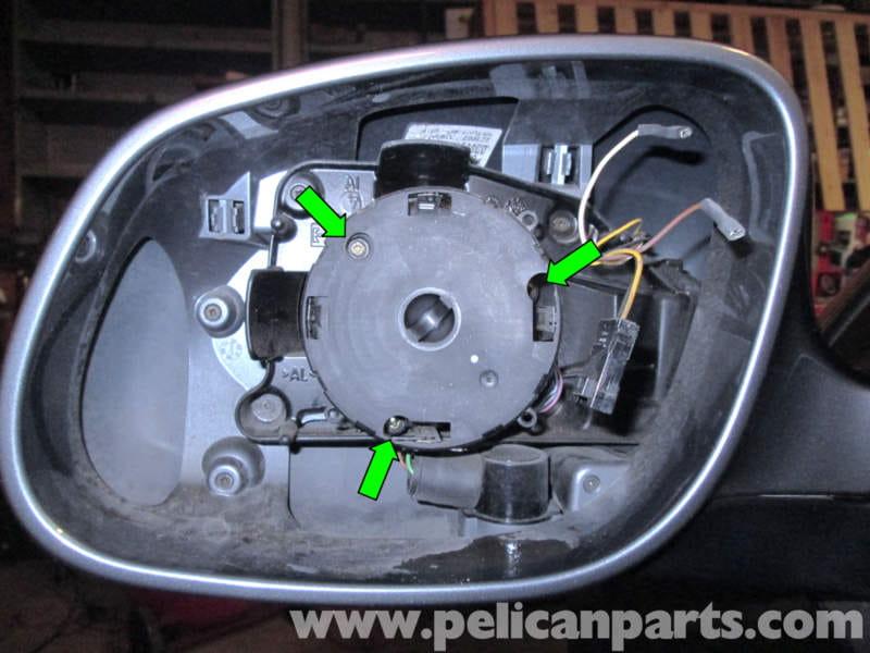 Porsche Cayenne Mirror Motor Replacement 2003 2008