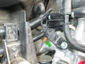 Here is aPicture of the harness connector with the intake manifold removed (green arrow).