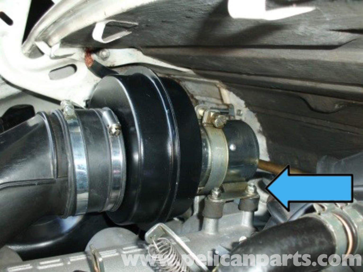Porsche 911 heater blower motor replacement 911 1965 89 for Heater blower motor replacement