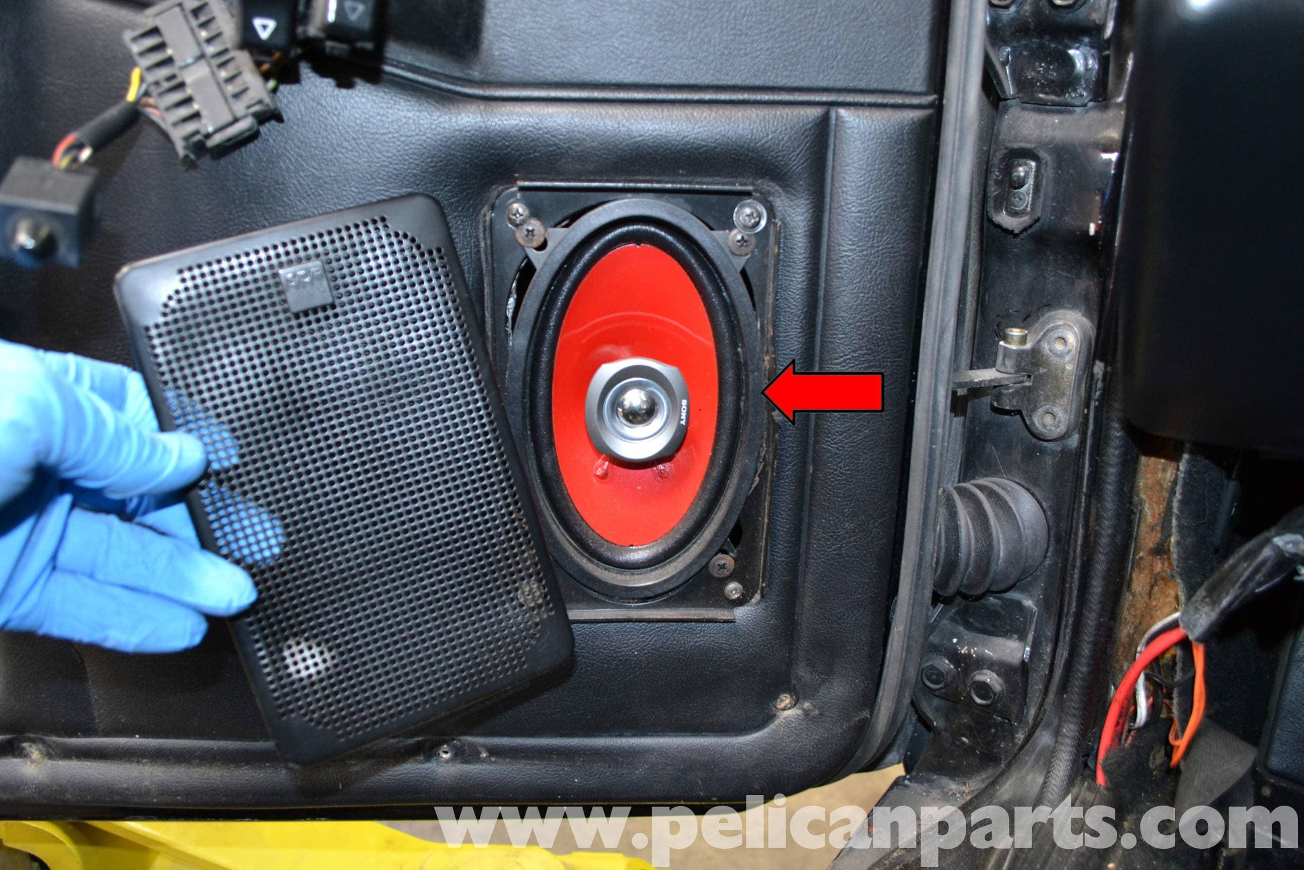 Porsche 944 Turbo Door Panel Removal 1986 1991 Pelican