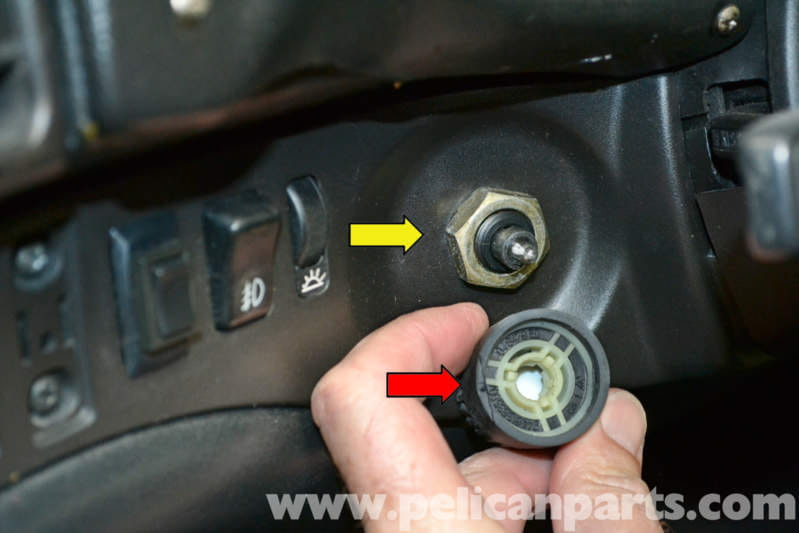 Headlight Switch Replacement : Porsche turbo headlight switch replacement