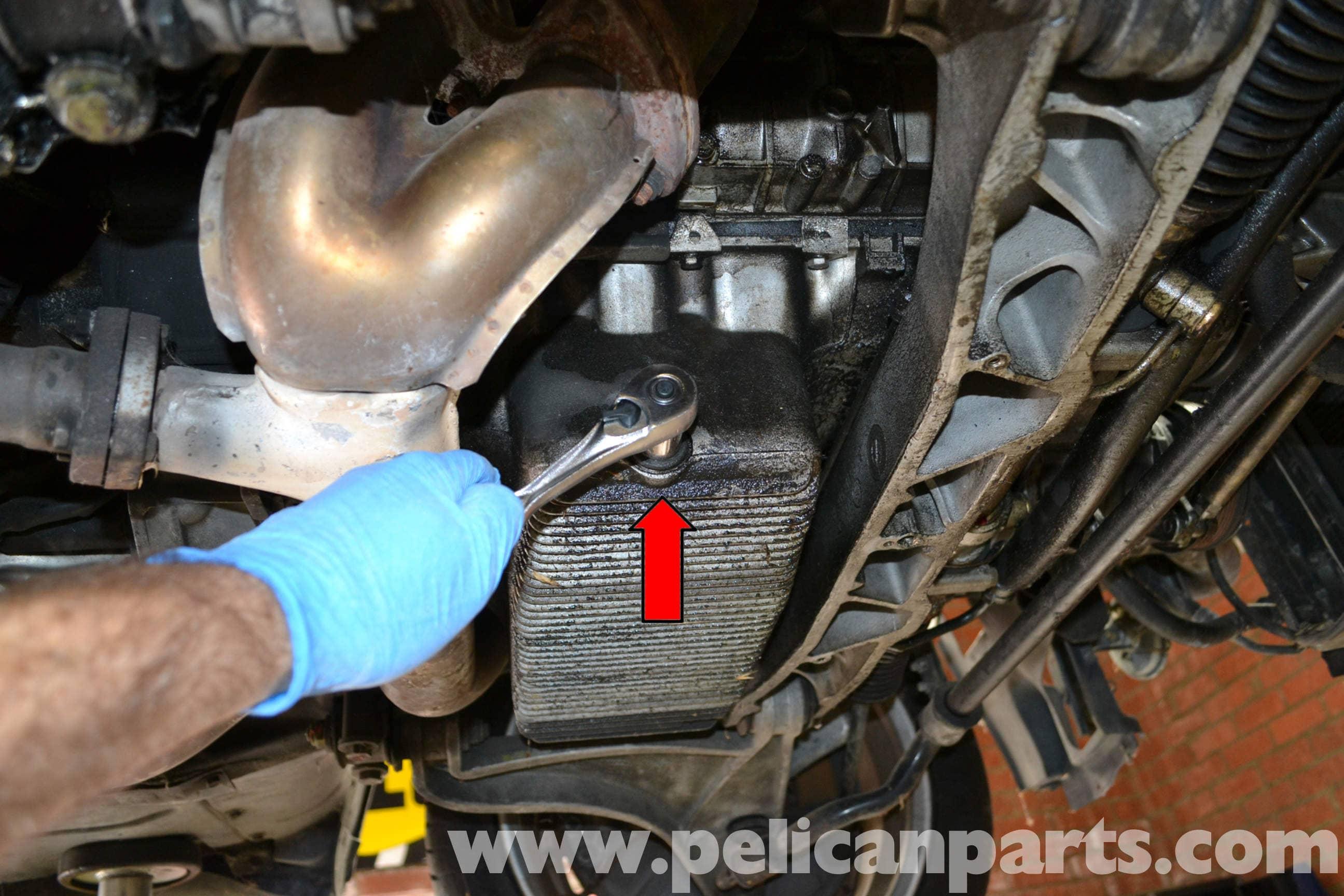 Porsche 944 Turbo Oil Pan Gasket Replacement 1986 1991