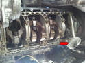 You should inspect the inside of the crankcase for obvious signs of damage.