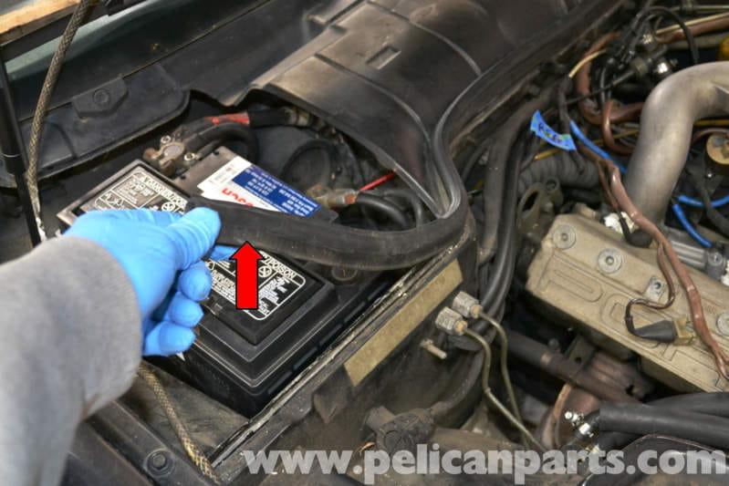 Porsche 944 Turbo Hvac Air Temperature Sensor Replacement