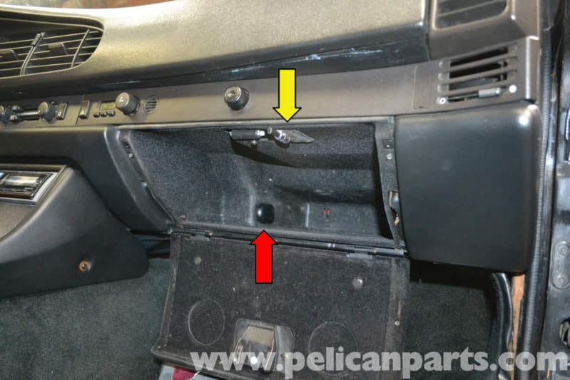 Porsche 944 Turbo Glove Box Removal 1986 1991 Pelican