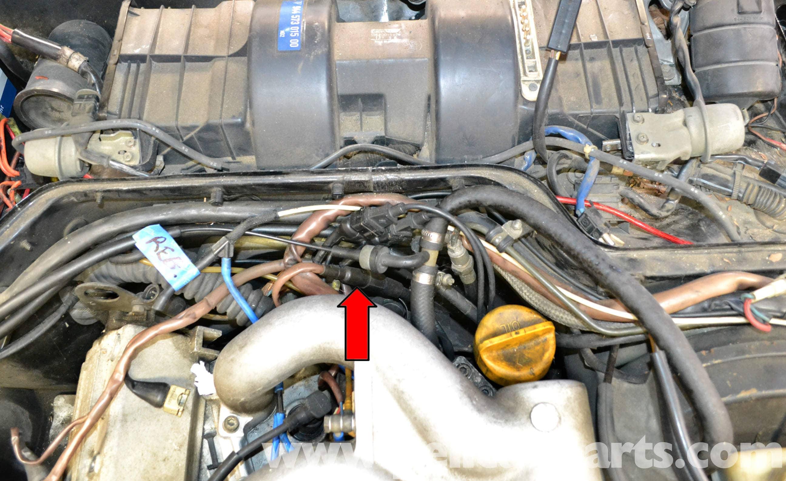 porsche 944 turbo oxygen sensor replacement 1986 1991 pelican parts diy maintenance article