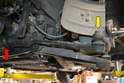 You will need to remove the tie rod end (yellow arrow) whether you are just changing the end or the whole tie rod.