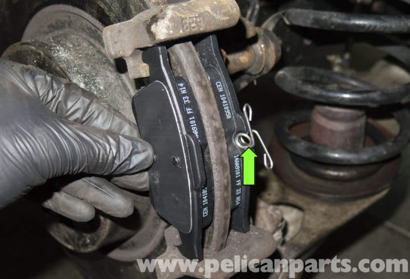 Brake Pad And Rotor Replacement >> Saab 9-3 Rear Brake Pads Rotors Replacement (2006-2007) | Pelican Parts DIY Maintenance Article