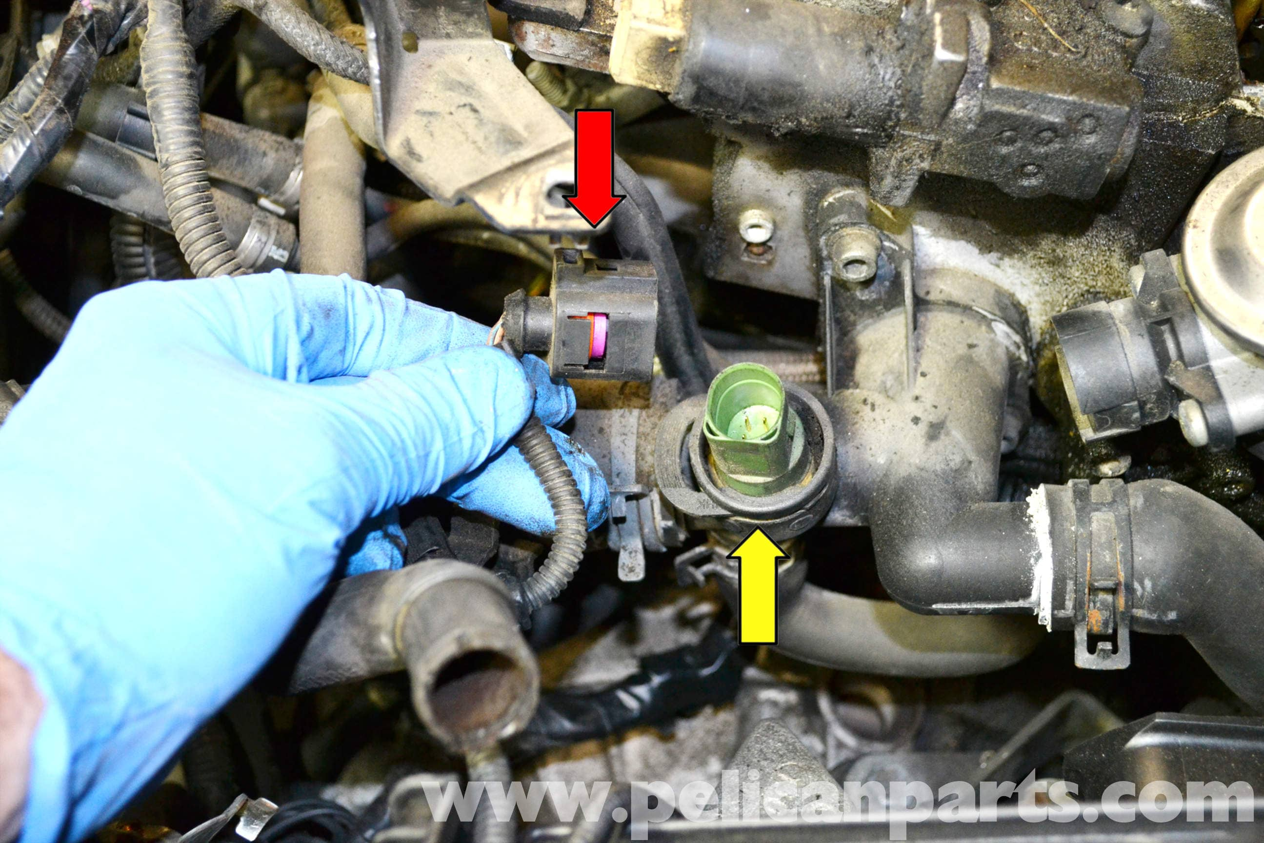 Volkswagen Golf Gti Mk Iv Coolant Temperature Sensor