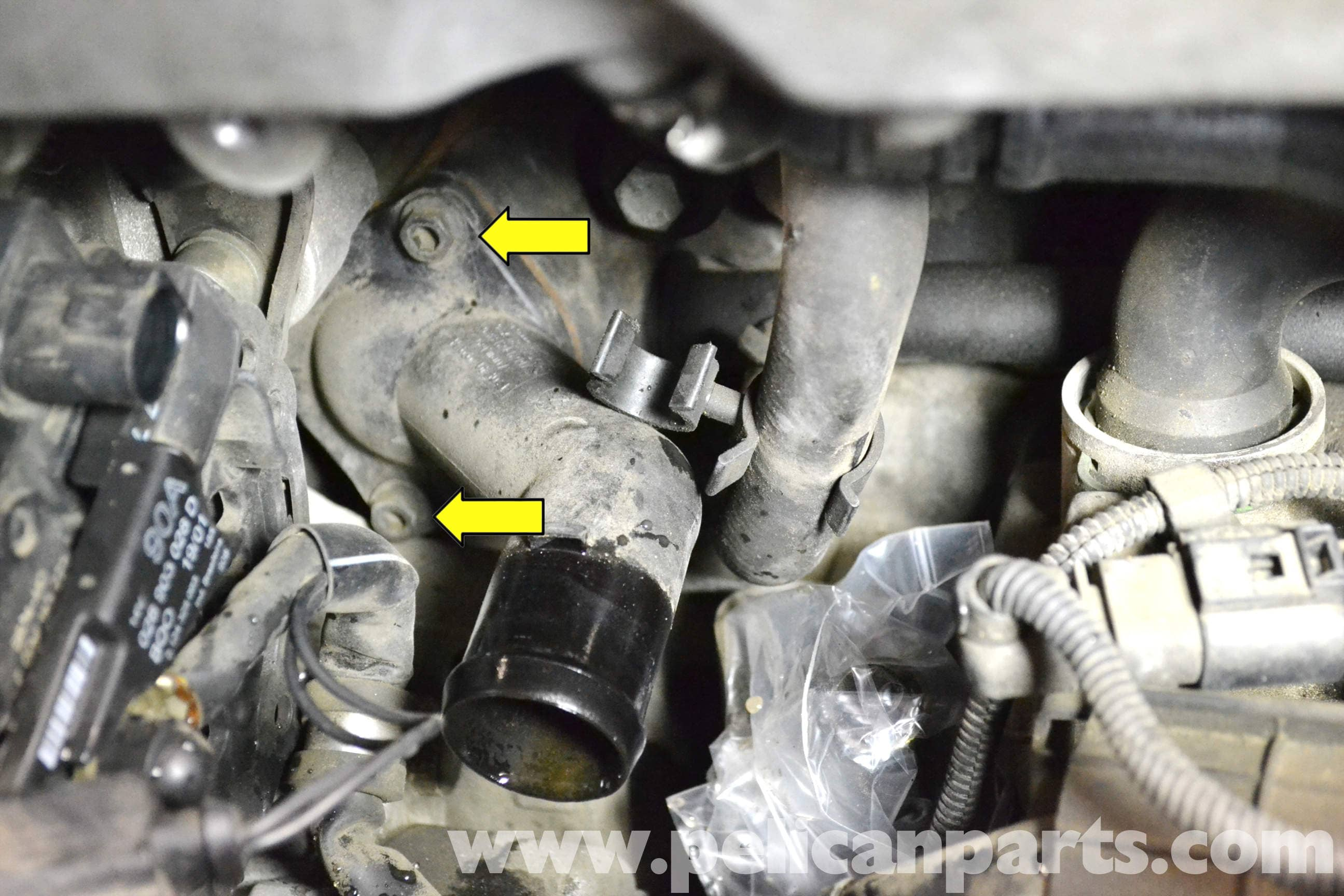Thermostat Golf 4 : volkswagen golf gti mk iv thermostat replacement 1999 2005 pelican parts diy maintenance article ~ Gottalentnigeria.com Avis de Voitures
