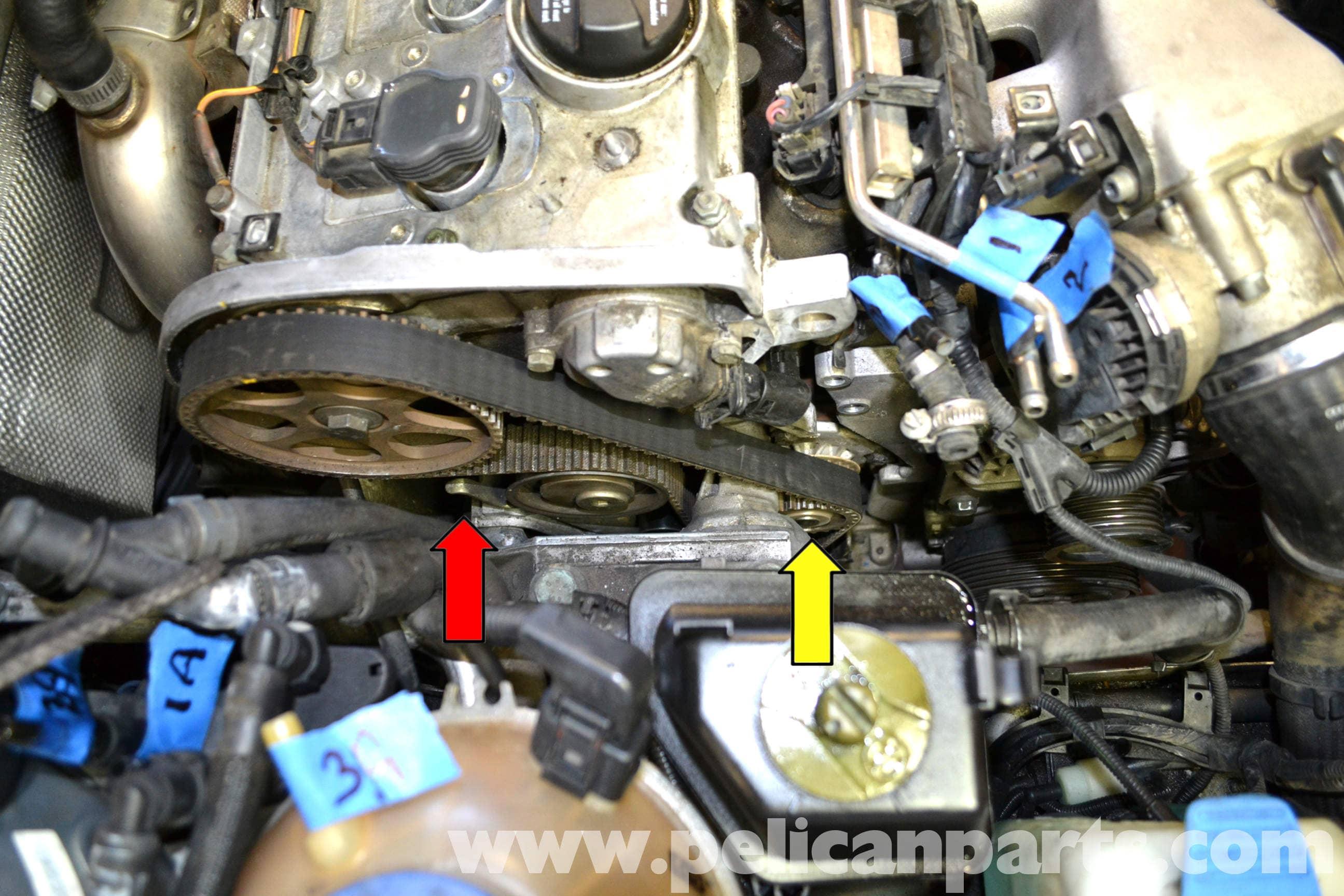 02 cabrio convertible top wiring diagram volkswagen golf gti mk iv water pump replacement  1999  volkswagen golf gti mk iv water pump replacement  1999
