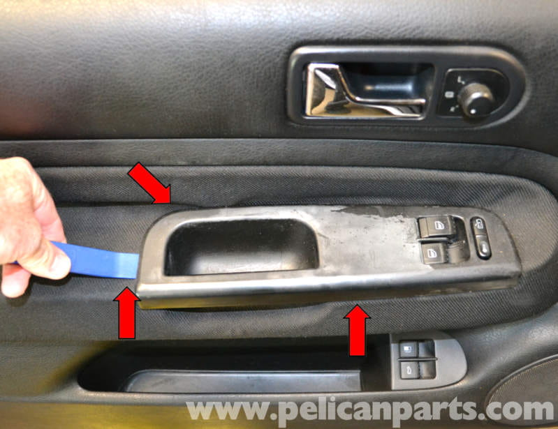 Volkswagen Golf Gti Mk Iv Front Door Panel Removal 1999