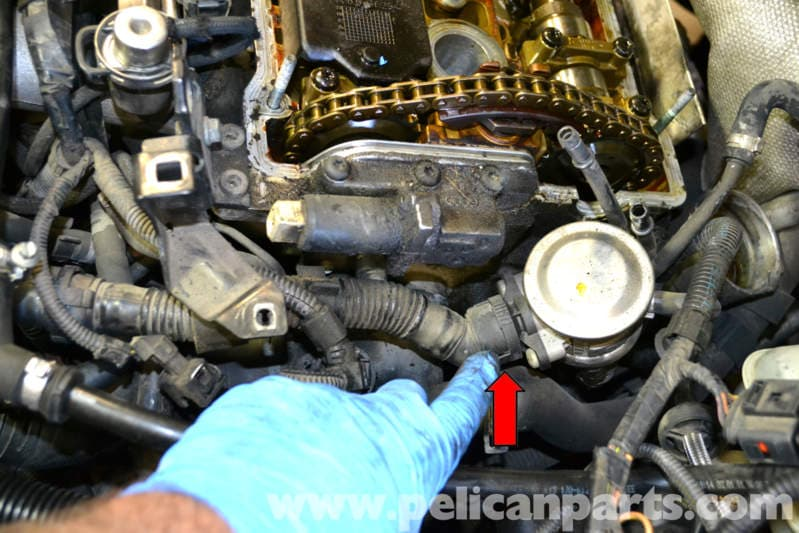 Volkswagen Golf Gti Mk Iv Auxiliary Air Pump And Hose
