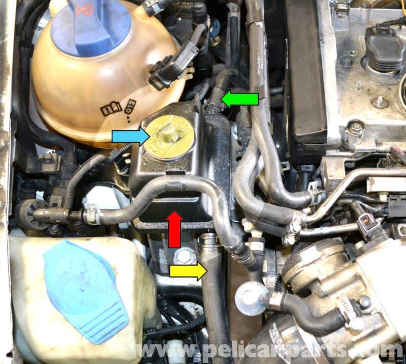 Volkswagen Golf Gti Mk Iv Power Steering Pump And