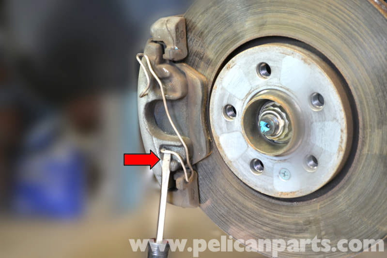 Volkswagen Golf Gti Mk Iv Front Brake Pad Replacement