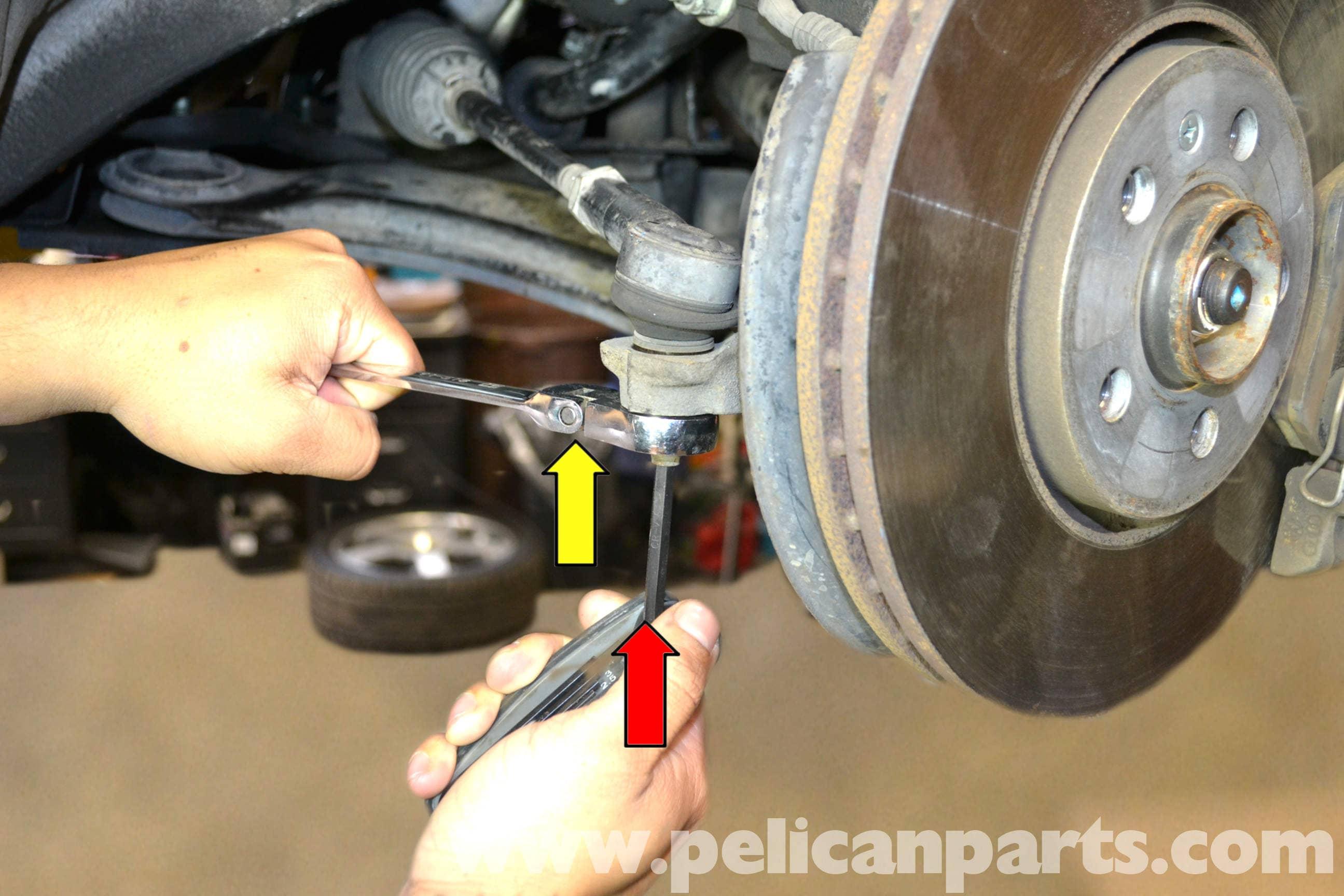 Volkswagen Golf GTI Mk IV Front Tie Rod End Replacement ...