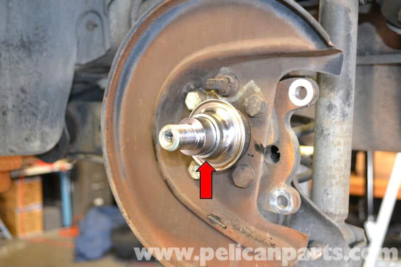 Volkswagen Wheel Bearing Puller : Volkswagen golf gti mk iv rear wheel hub and bearing