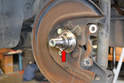 You can simply pull the old bearings off leaving the inner race on the stub axle.