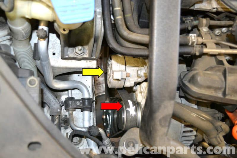 volkswagen golf gti mk  belt tensioner replacement