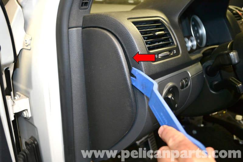 Volkswagen Golf Gti Mk V Interior Trim Panel Removal 2006