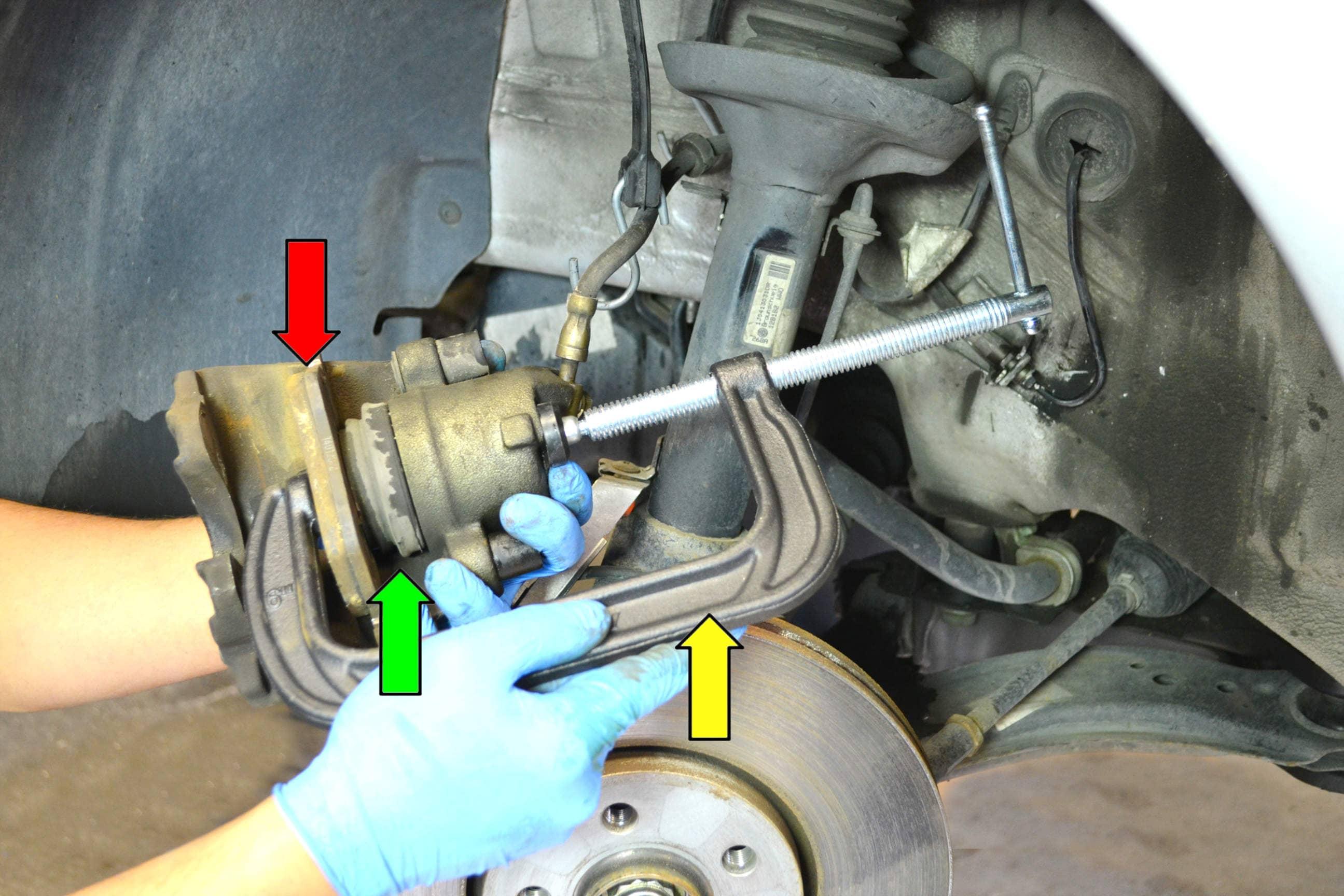 Volkswagen Golf Gti Mk V Front Brake Pads Replacement