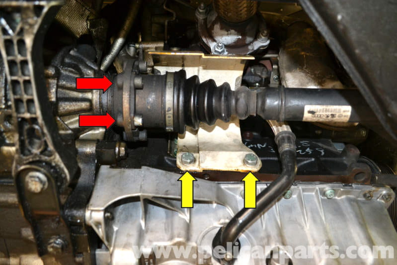 Volkswagen Golf Gti Mk V Front Drive Axle Replacement