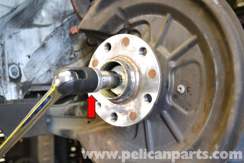 Volkswagen Golf Gti Mk V Rear Wheel Hub And Bearing
