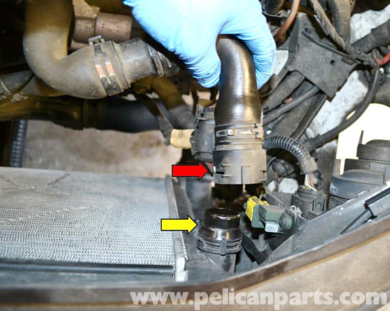 Volkswagen Golf Gti Mk V Radiator And Coolant Hose
