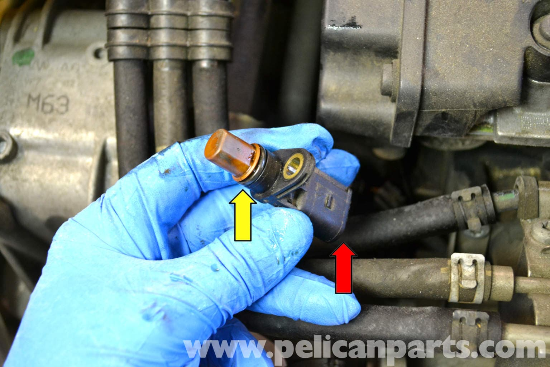 Volkswagen Golf Gti Mk V Camshaft Positioning Sensor Replacement  2006-2009
