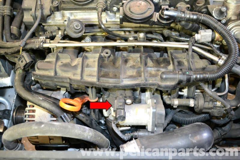 Volkswagen Golf Gti Mk V Intake Air Temperature Sensor