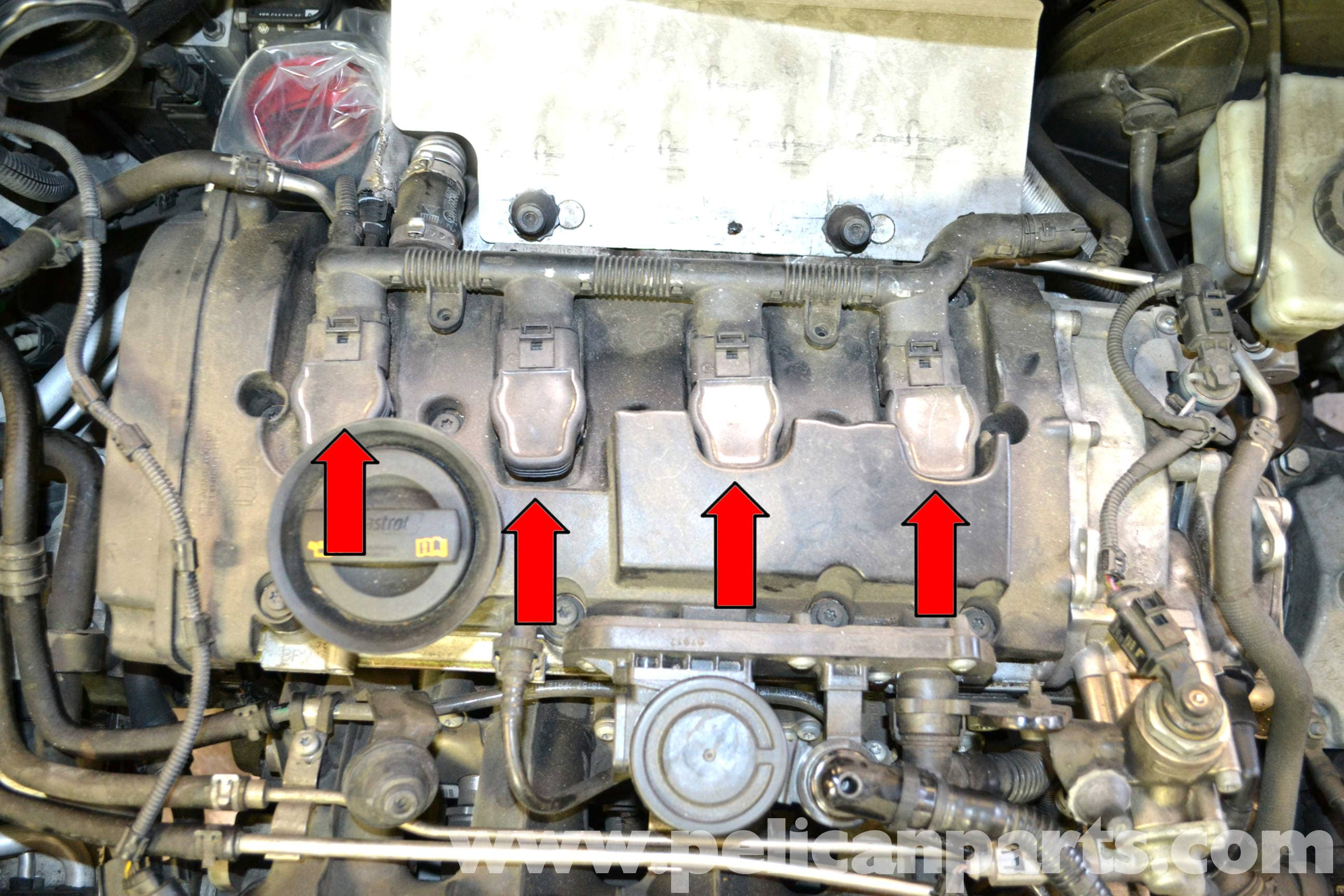 Volkswagen Golf Gti Mk V Spark Plug And Coil Replacement