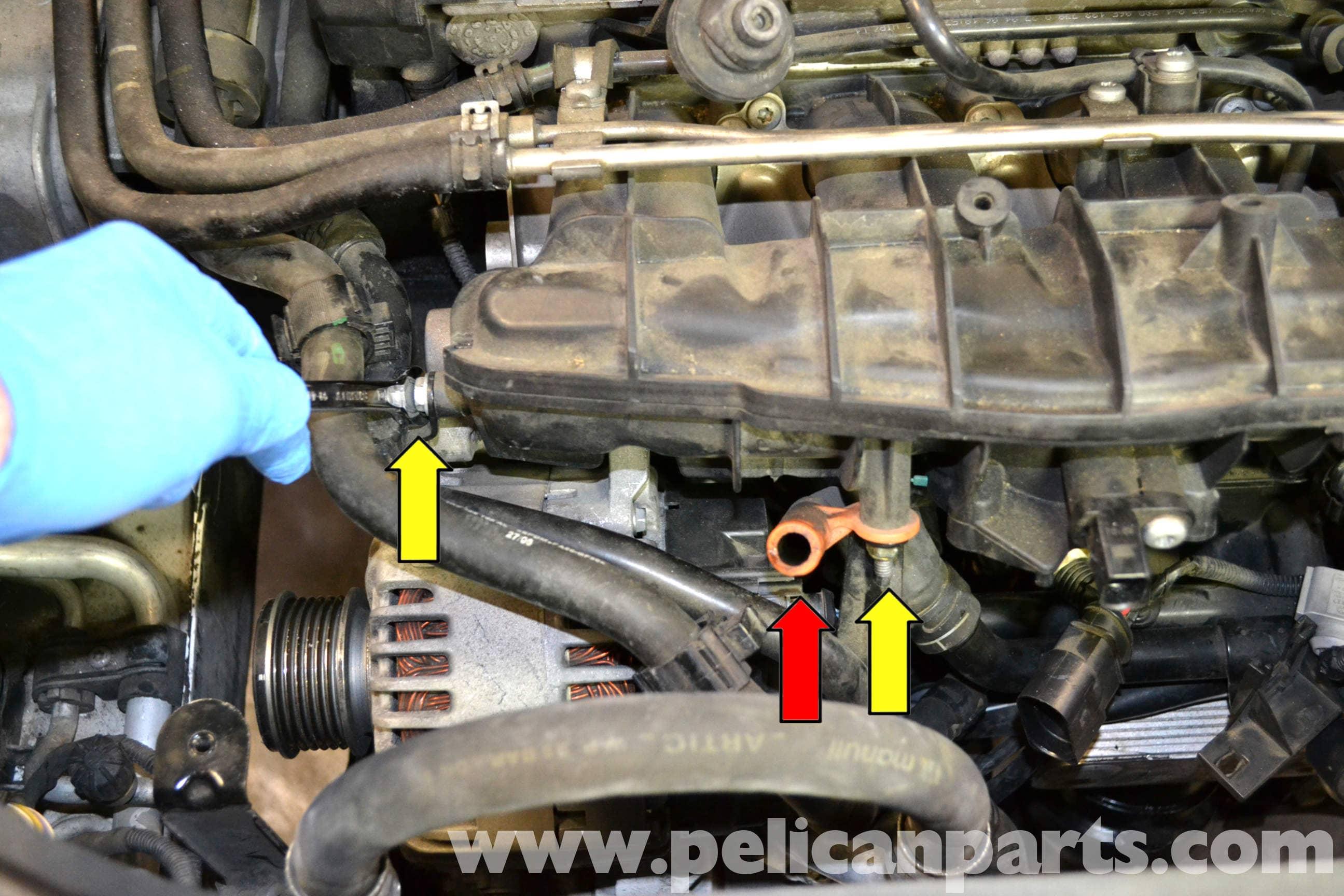 Volkswagen Golf Gti Mk V Intake Manifold Removal  2006-2009